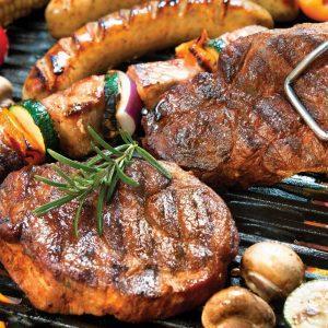 Žar BBQ grill Ekodar steak