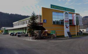 sedež zadruge Kmetijska zadruga Šaleška dolina TPC Šoštanj poslopje trgovina