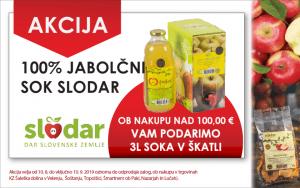Akcija, sok, Slodar