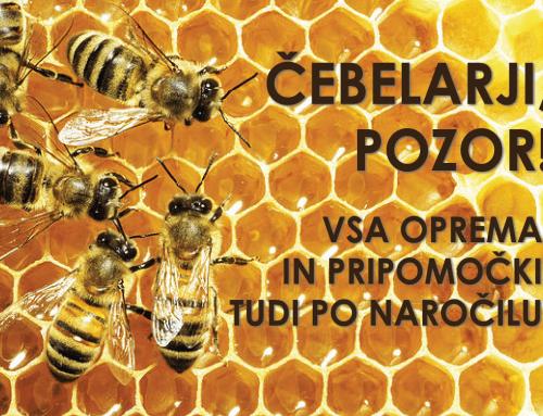 Vsa oprema za čebeleraje tudi po naročilu