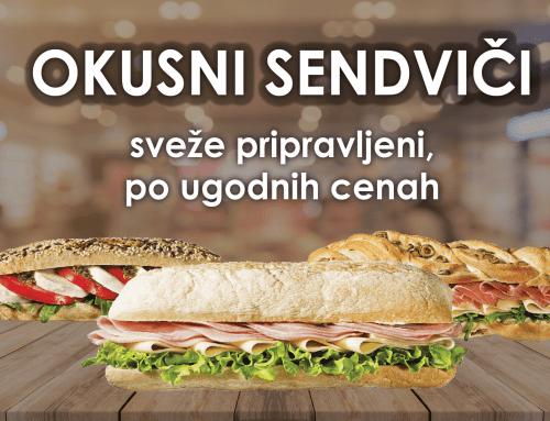 Okusni sendviči v Marketu Toplica