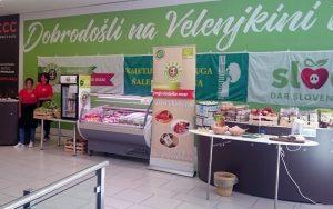 Velenjkina tržnica Velenje KZ Šaleška dolina Celeia Zelene doline Rače Napotnik