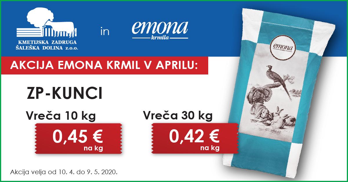 akcija, Emona, Jata, krmila, kunci, zadruga, KZ Šaleška dolina, ZP kunci, ZP-kunci, mešanica